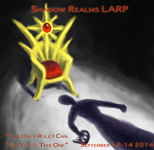 September 12-14 2014 Shadow Realms Event Poster